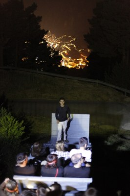 215 persones participen a les visites nocturnes al Camí Hidroelèctric d'Engolasters
